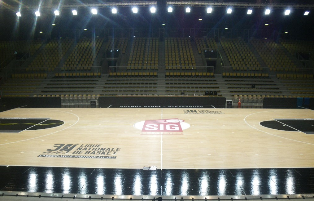 Indoor lighting certification - FIBA